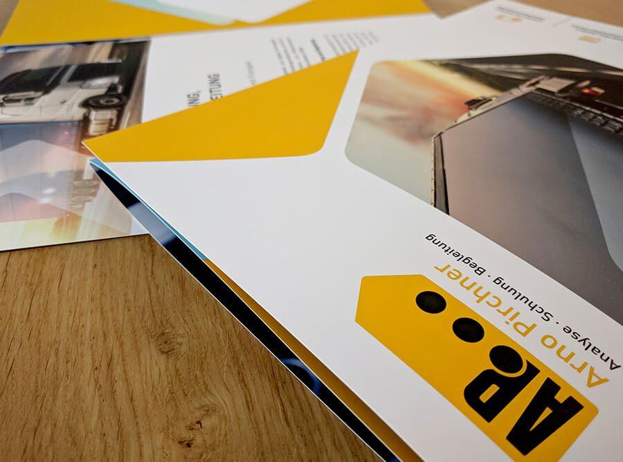 Wickelfalz Folder