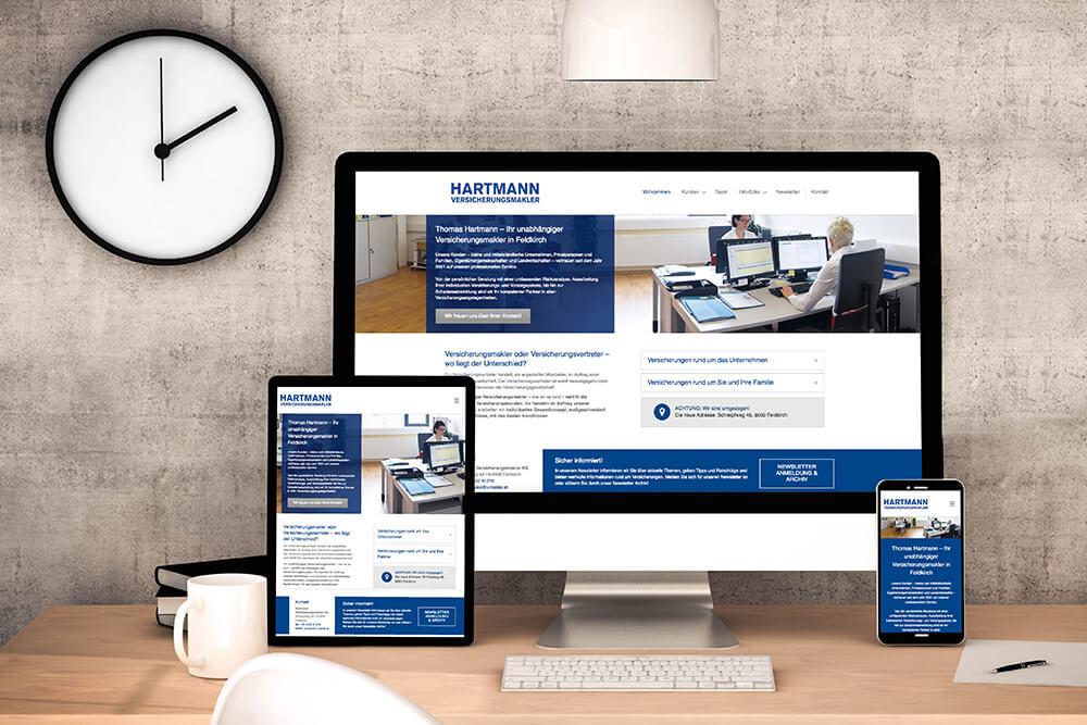 innova design, thüringen, grafikagentur, werbeagentur, webdesign, thomas hartmann versicherungsmakler